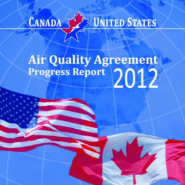 You're invited to comment on latest Air Quality Agreement Progress Report