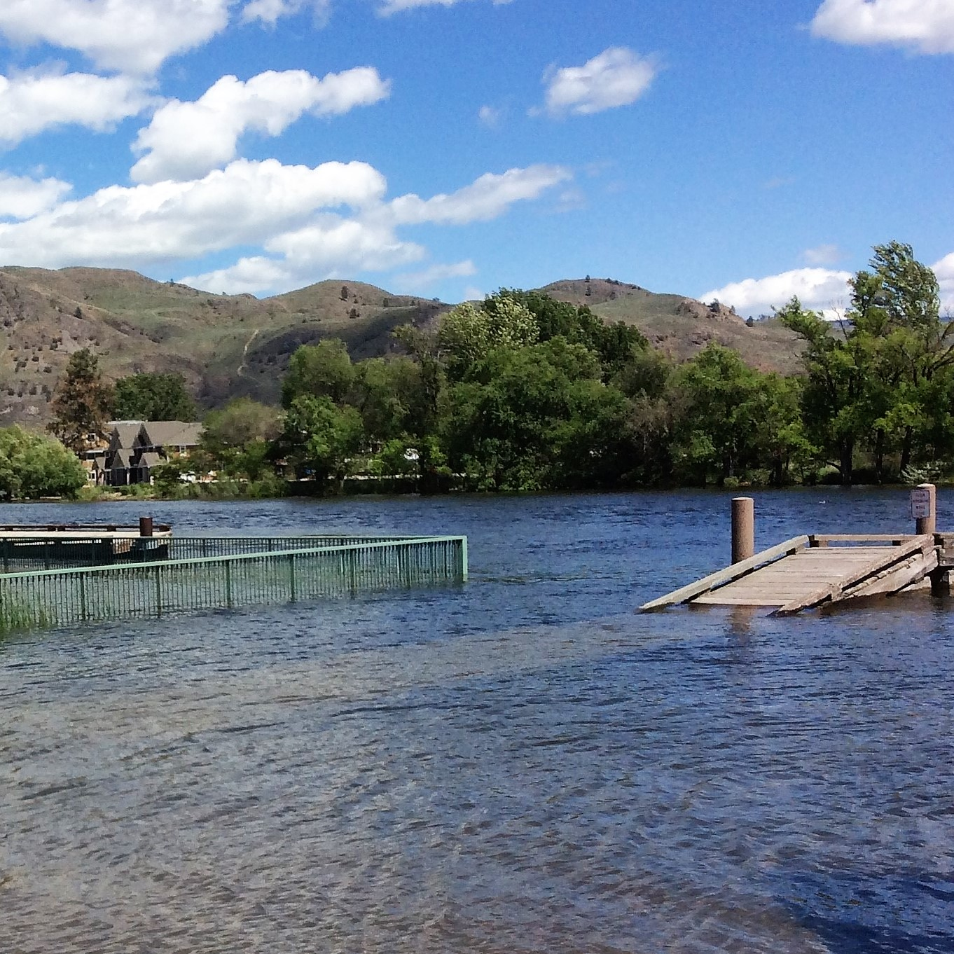 Flooding and Fire in the Osoyoos Lake Area