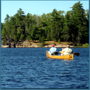 Rainy-Lake of the Woods Watershed – A Busy Place in August