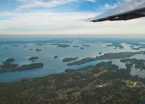 A Plane with Lasers Helps Answer Questions About Rainy Lake Dams