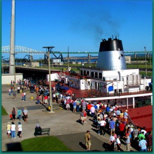 Visit the Soo Locks – and Lake Superior Board – during Engineer's Day