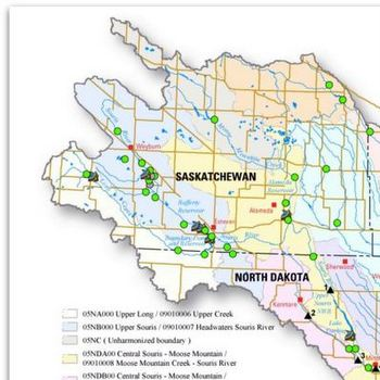 Souris River Board, Public Discuss Water Quantity and Quality