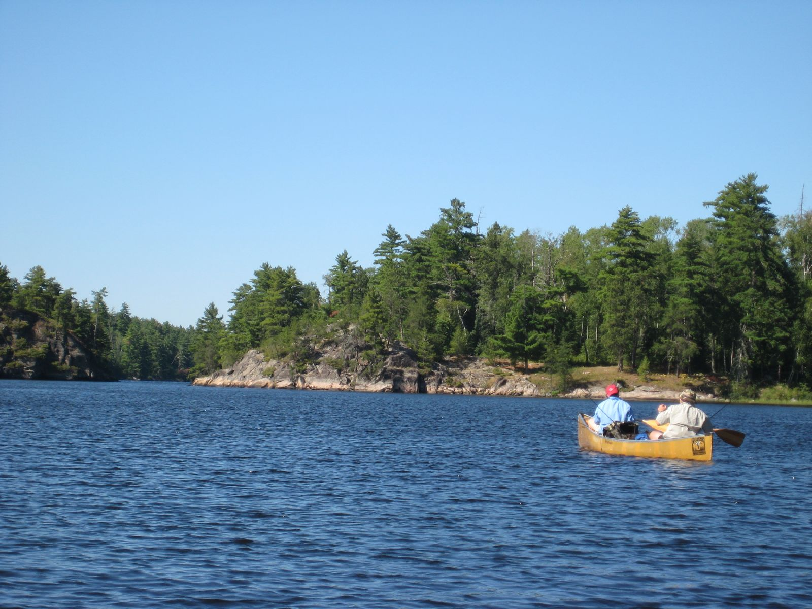 Canoeing in the Boundary Waters in Minnesota. Photo Credit: Greg Walters