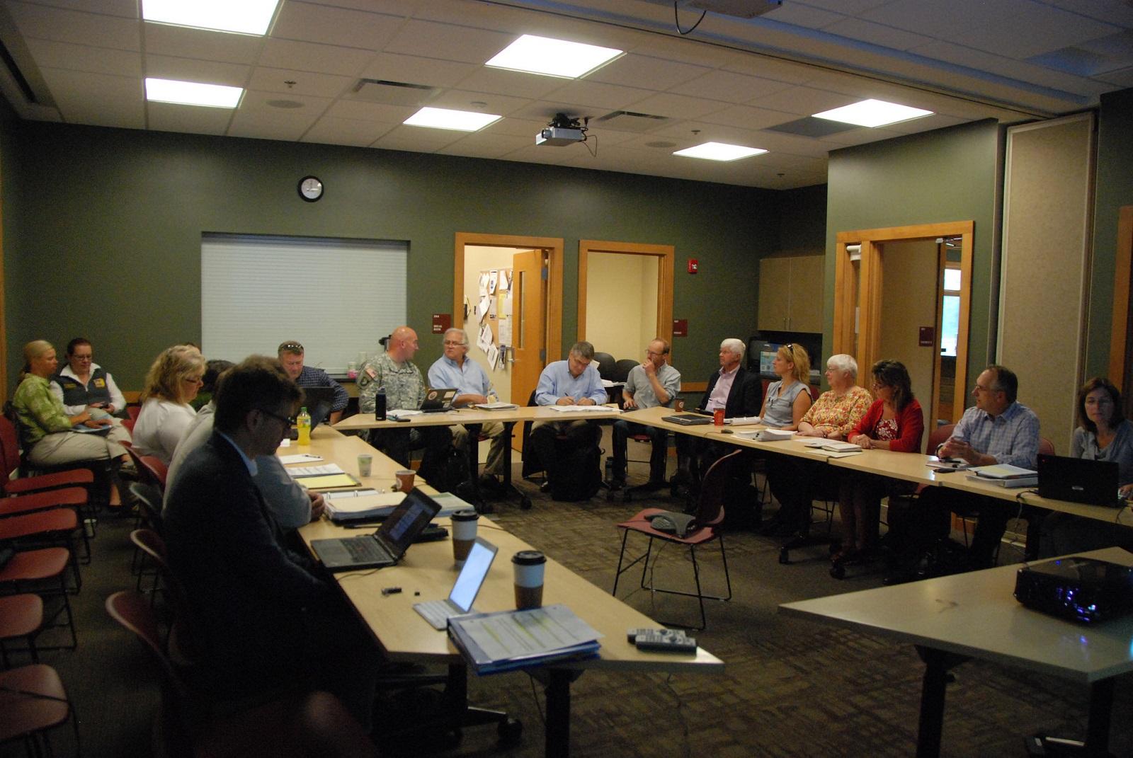 IRLWWB meeting August 2015