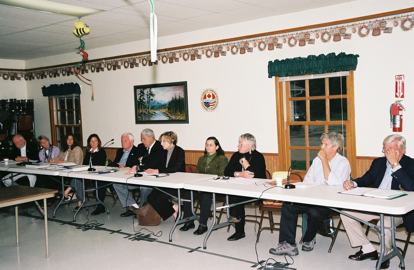 Meeting of Commissioners and the International Rainy-Lake of the Woods Watershed Board