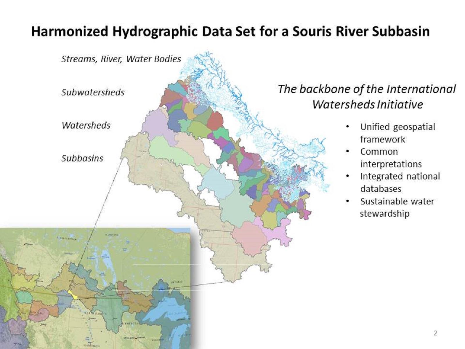 Data Harmonization in the Souris River Basin