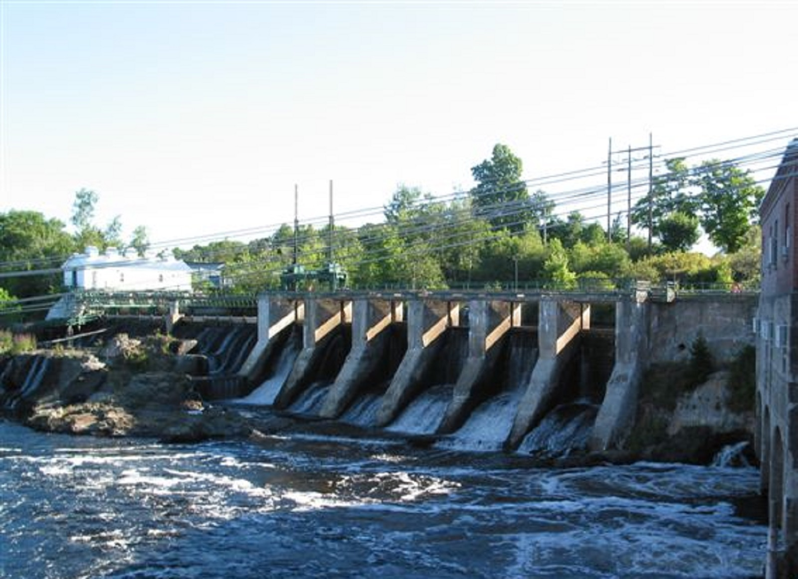 Dam on the St. Croix River