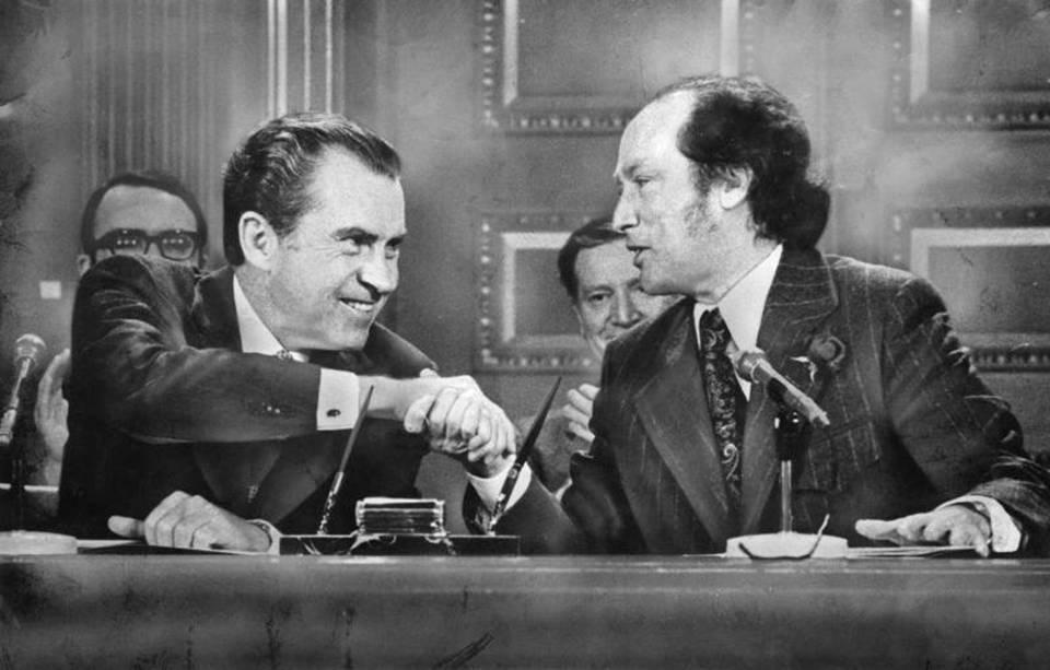 Nixon - Trudeau 1972