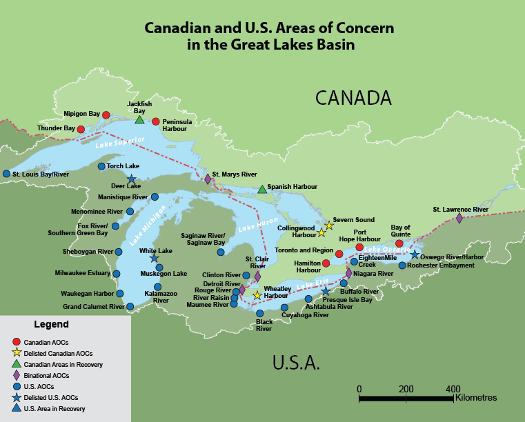 Map Of Canada With Lakes.Introduction To Aocs