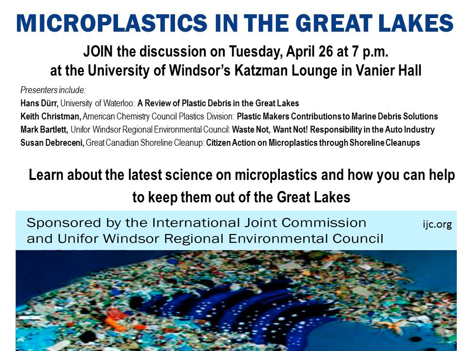Microplastics Workshop, April 26 2016