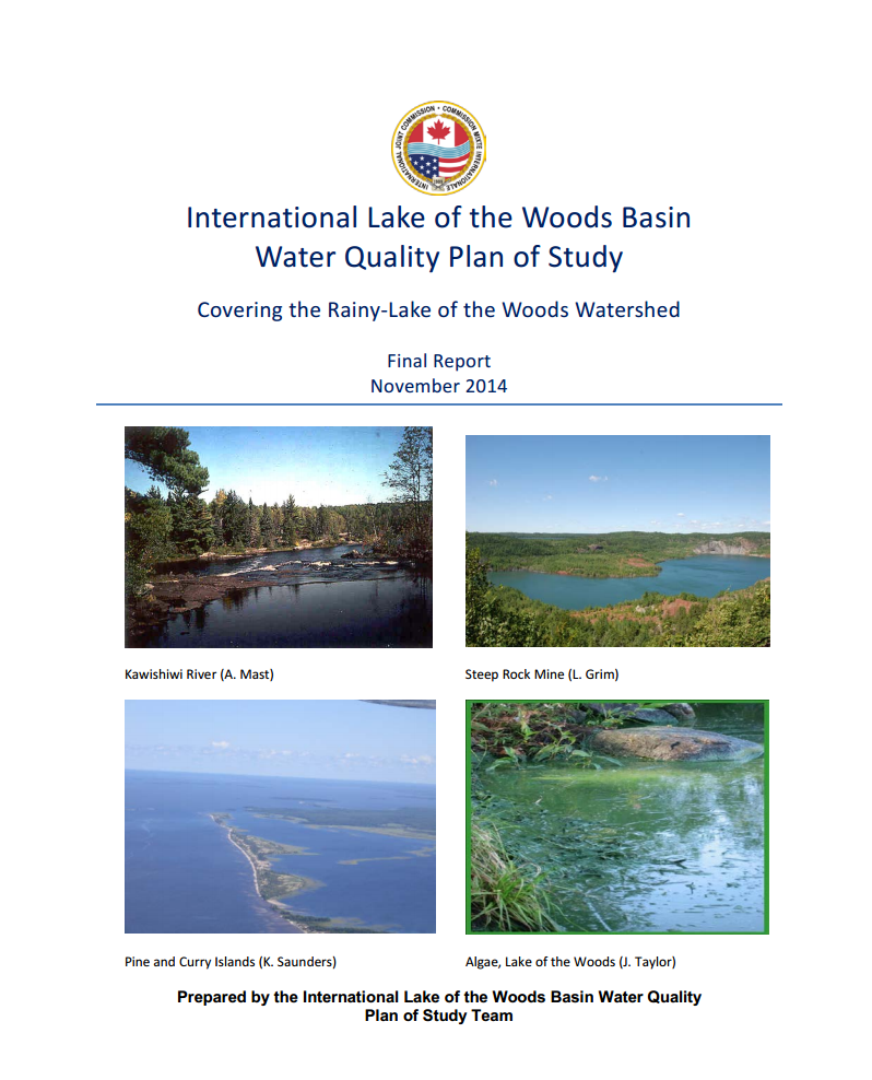 Draft Water Quality Plan of Study