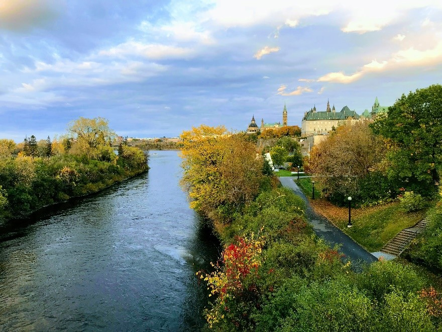 Fall in Ottawa. Credit: IJC