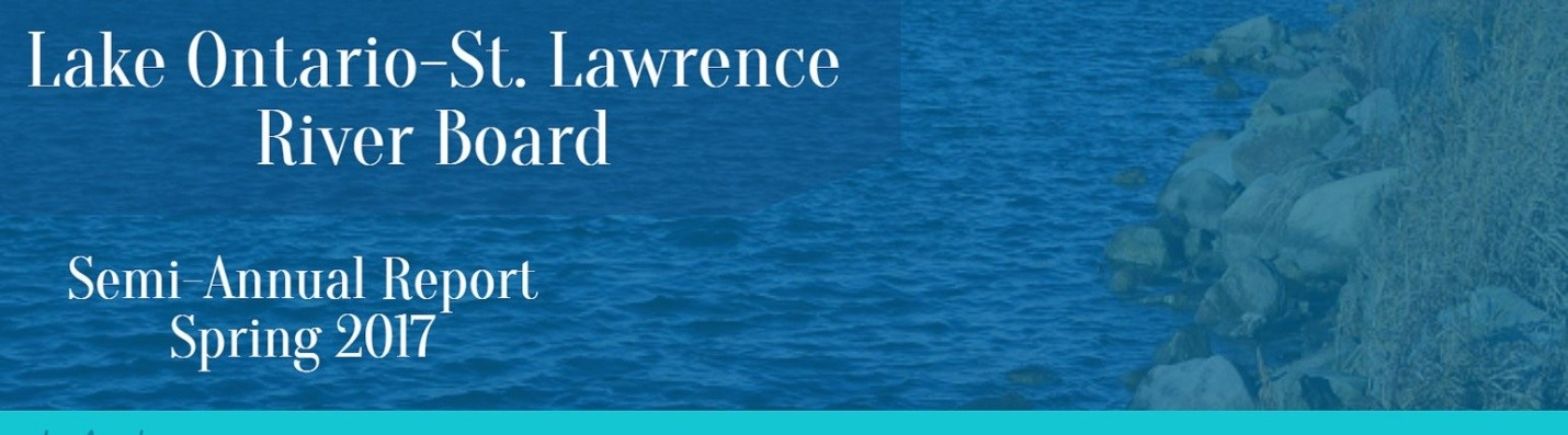 Highlights from the Lake Ontario-St. Lawrence River Board