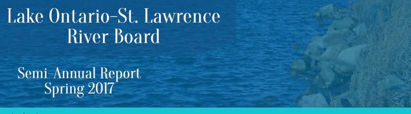 Faits saillants du Conseil international du lac Ontario et du fleuve Saint‑Laurent.