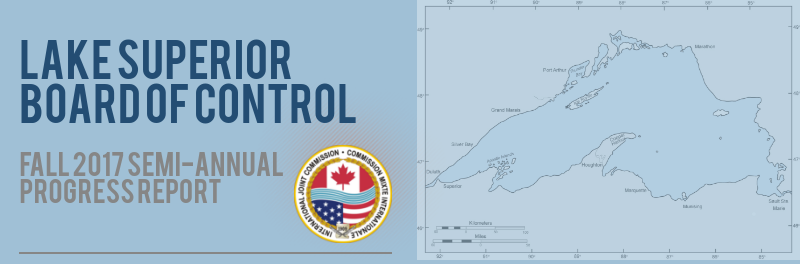 Conseil international de contrôle du lac Supérieur – cliquer pour obtenir l'infographie complète