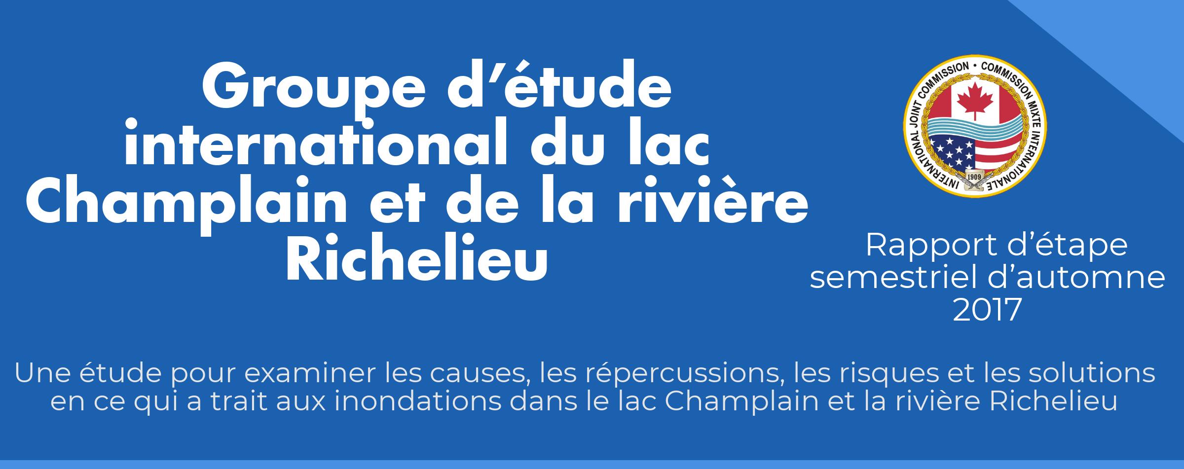 Groupe d'étude du lac Champlain et de la rivière Richelieu – cliquer pour obtenir l'infographie complète