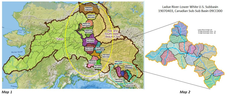 MapsandJPG - Yukon river world map