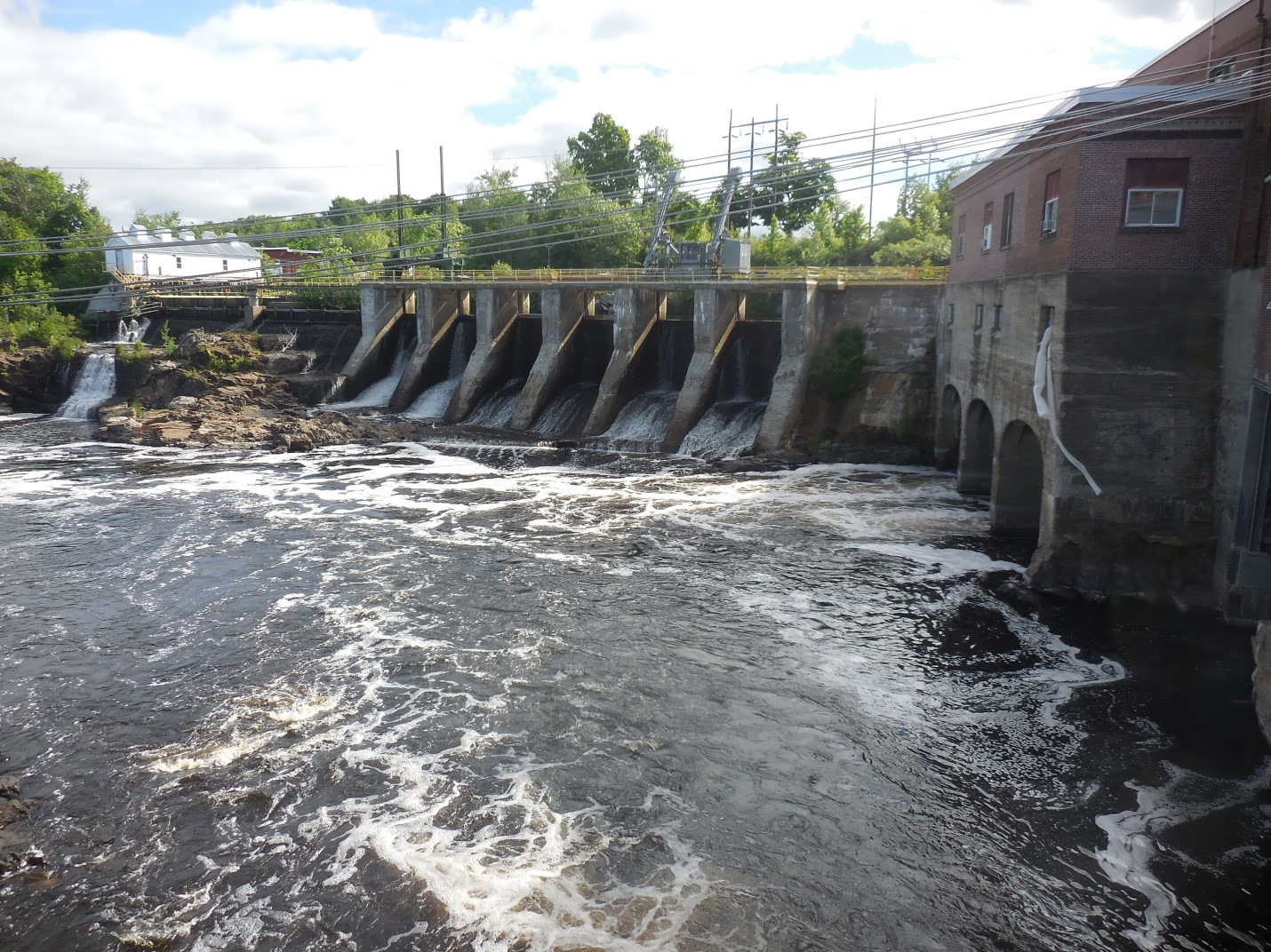 The Milltown Dam. Credit: Shannon E. Runyon