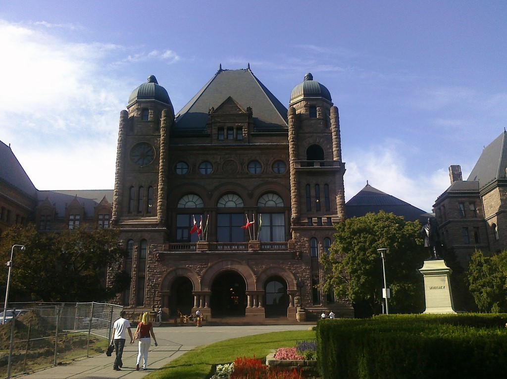 The Ontario Legislative Assembly. Credit: Chris Lawrence