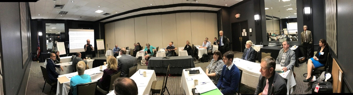 A panoramic from the IWI workshop. Credit: IJC files