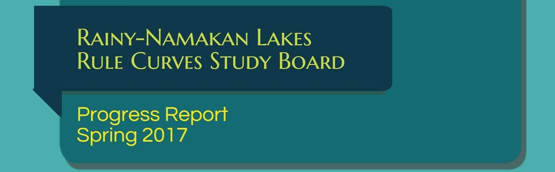 Highlights from the Rainy-Namakan Lakes Rule Curves Study Board