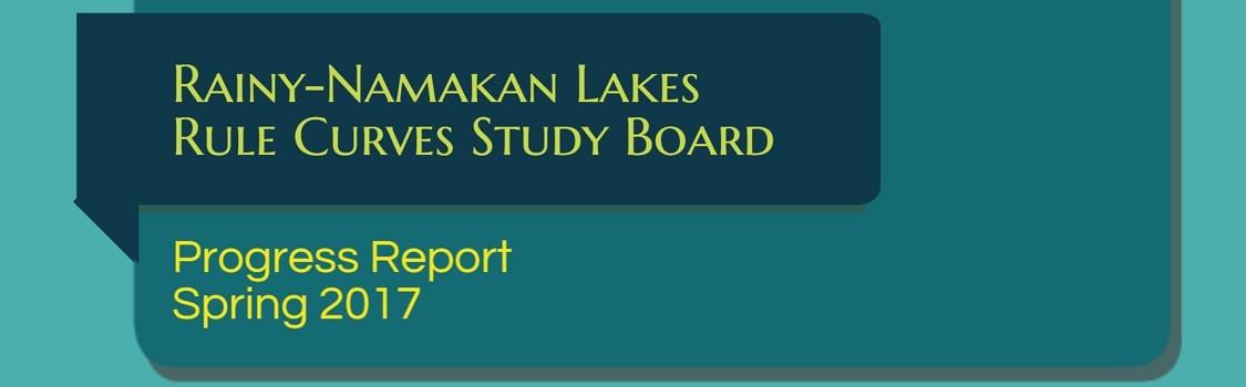 Faits saillants du Groupe d'étude sur les courbes d'exploitation du lac à la Pluie et du lac Namakan.