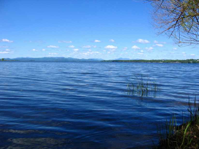 Water quality in the majority of Lake Champlain is quite good. The TMDL and Vermont implementation plan will help to improve those areas where too much phosphorus continues to be a problem. Credit: LCBP