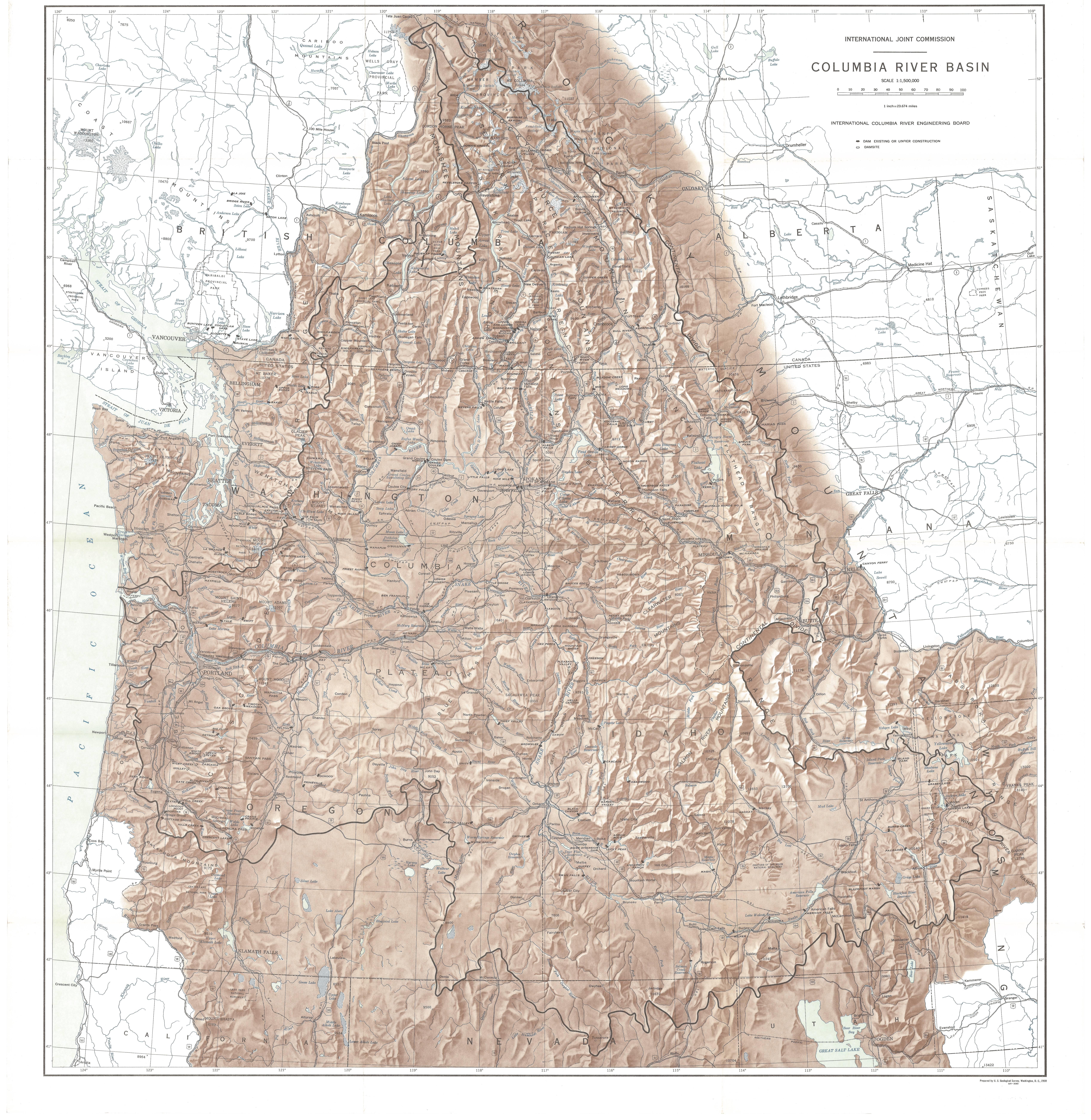 Columbia Basin 1958